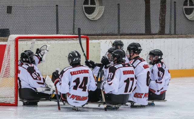 Sledge-Eishockey