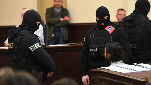 Salah Abdeslam Terror Paris Gericht Prozess Belgien Brüssel