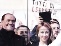 Itailen: Das rechte Wahlbündnis um Silvio Berlusconi spaltet die Nation