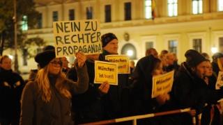 Anti-Pegida Demonstration in München, 2015