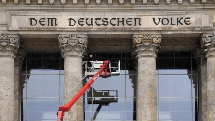 Bundesregierung Große Koalition Verhandlungen Reichstag