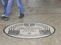 Mosaik in der LMU München, 2017