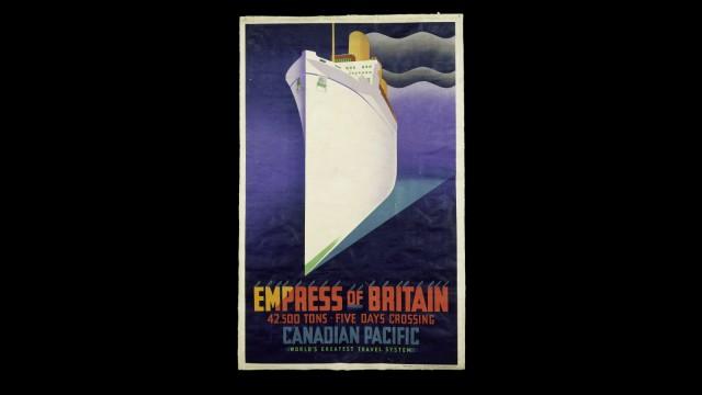 Ocean Liners: Speed & Style Victoria & Albert Museum