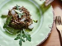 Kochquartett-Französischer Linsensalat