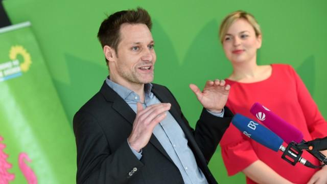 Spitzenduo der Grünen für Landtagswahl in Bayern