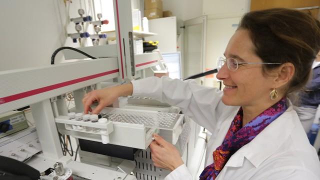 stillen Forschungsprojekt am Fraunhofer-Institut
