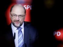 Pressekonferenz Nahles und Schulz
