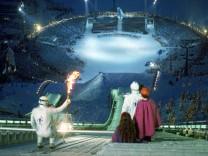XVII Winter Olympic Games Opening Ceremony; Eröffnungsfeier 1994 in Lillehammer