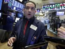 Wall Street: Der Dow Jones musste an der New Yorker Börse deutliche Kursverluste hinnehmen