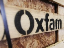 Aid Bound For Haiti Is Prepared At The Oxfam Warehouse