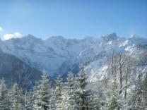 Winterwanderungen Skitour Schönalmjoch