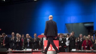 Martin Schulz SPD Parteitag DEU Deutschland Germany Berlin 07 12 2017 Rede von Martin Schulz P