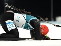 Biathlon - Winter Olympics Day 2