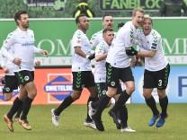 11 02 2018 Fussball Saison 2017 2018 2 Fussball Bundesliga 22 Spieltag SpVgg Greuther F