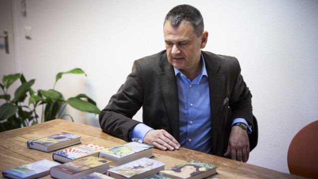 München: Gerdt Fehrle, Geschäftsführer des kleinen Louisoder-Verlags