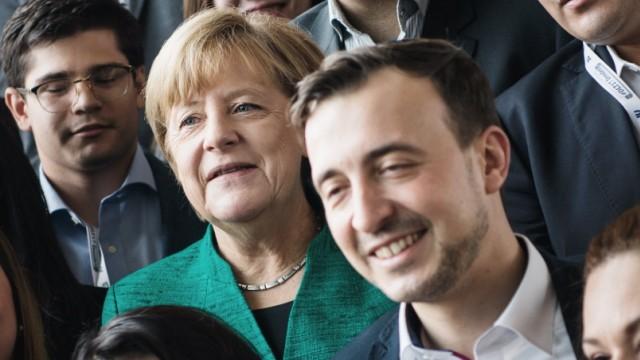 CDU: Deutschlandtag der Jungen Union mit Bundeskanzlerin Angela Merkel