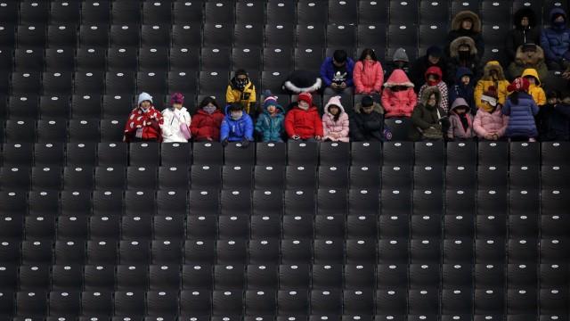 Freestyle Skiing - PyeongChang 2018 Olympic Games, Bongpyeong-Myeon, Korea - 09 Feb 2018
