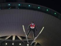 Olympia: Skispringen bei den Olympischen Spielen 2018 in Pyeongchang.