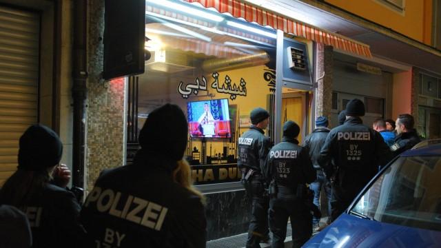 Razzia der Münchner Polizei, 2017