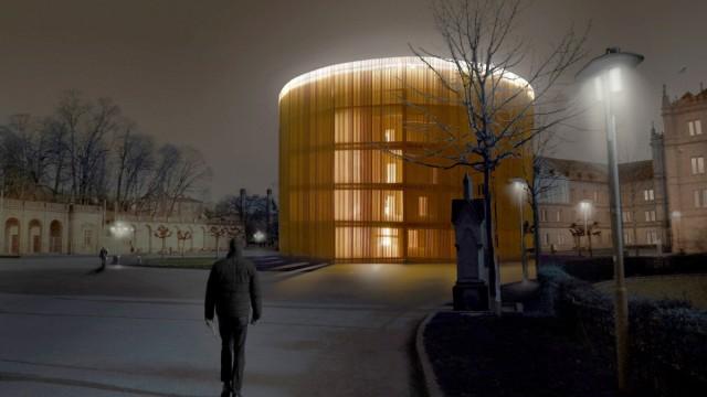Entwurf Globe-Theater Coburg