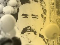 Demonstration für Deniz Yücel