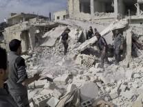 Luftangriffe bei Damaskus