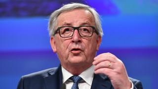 EU-Kommissionspräsident Jean-Claude Juncker bei einer Pressekonferenz 2018 in Brüssel.