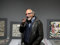 Art Spiegelman at The Jewish Museum in New York.