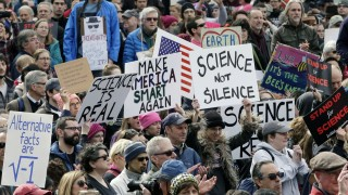 "´Science March"" in Boston"