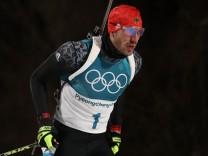 Biathlon - Winter Olympics Day 3