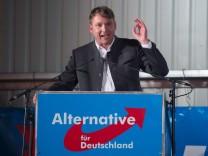 Politischer Aschermittwoch in Sachsen - Afd
