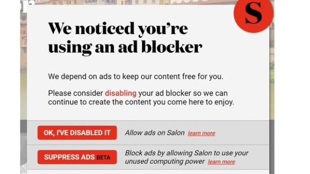 Screenshot Salon.com