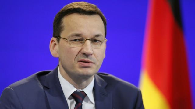 Polens Ministerpräsident Mateusz Morawiecki