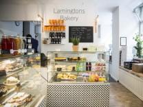 München: Lamingtons Bakery, Schleißheimer Straße, München. Australische Spezialitäten und internationale Köstlichkeiten.