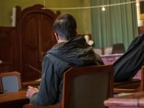 Auftakt Prozess gegen einen terrorverdächtigen Syrer