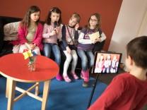 Kindertageszentrum St. Martin. Die Einrichtung nimmt am Digitalisierungsprojekt des Bildungsreferats teil und zeigt uns, wie man digitale Medien schon im Kleinkindalter einsetzen kann.