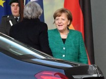 Theresa May in Berlin