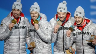 Medal Ceremony - Winter Olympics Day 7