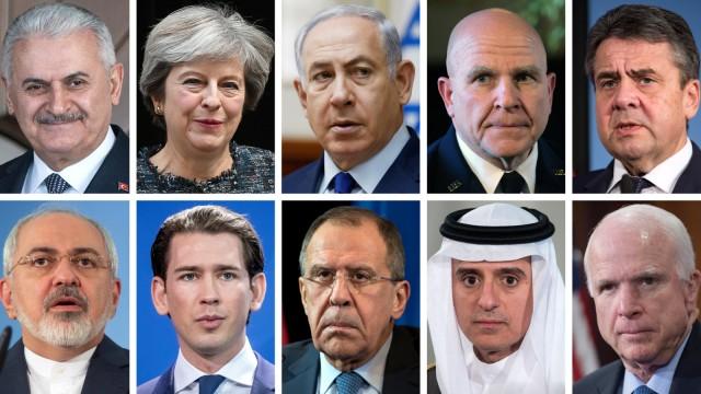 Köpfe der Sicherheitskonferenz