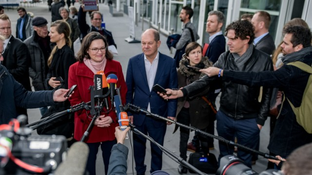 Erste Regionalkonferenz der SPD-Führung