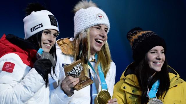 Olympia Super G der Frauen bei Olympia