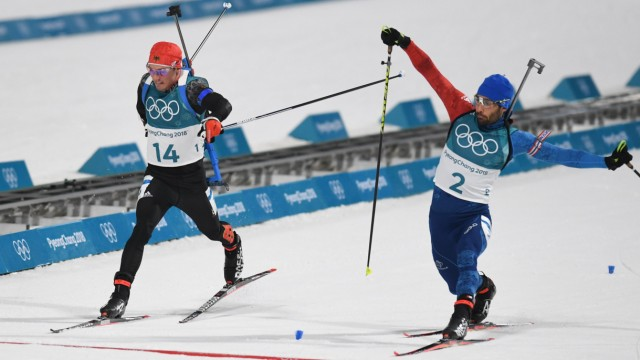 Biathlon - Winter Olympics Day 9