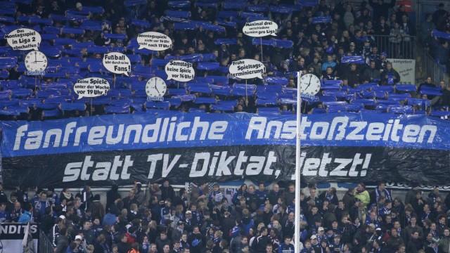 Fanproteste gegen Montagsspiele
