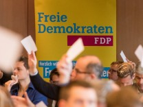 Landesparteitag der FDP in Bayern