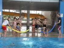 Schwimmunterricht für Schulkinder