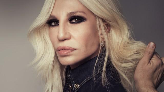 Donatella Versace Ein Gespräch mit Mode-Ikone Donatella Versace