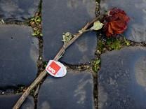 Verwelkte SPD-Rose
