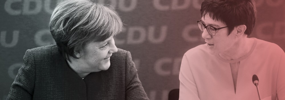 Christian Democratic Union CDU leadership meeting in Berlin