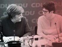 Christian Democratic Union CDU leadership meeting in Berlin