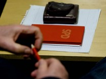 Stimmungsbild - SPD Basis diskutiert über Koalitionsvertrag